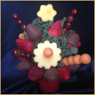 Bouquet of Berries in Milk Chocolate