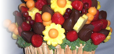 arrangement edible fruit